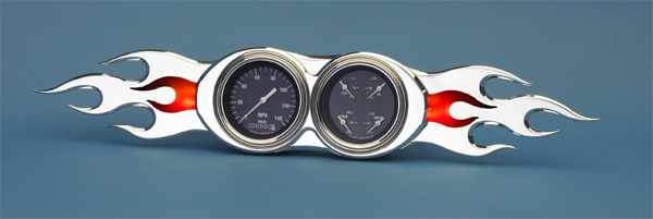 Flame Bezel- 3 3/8&quot;