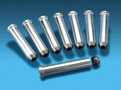 Donovan valve covers with .187&quot; gaskets billet spark plug tubes