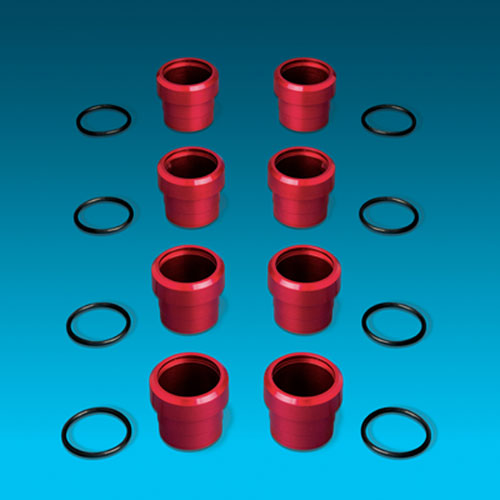Hemi billet spark plug tube seals
